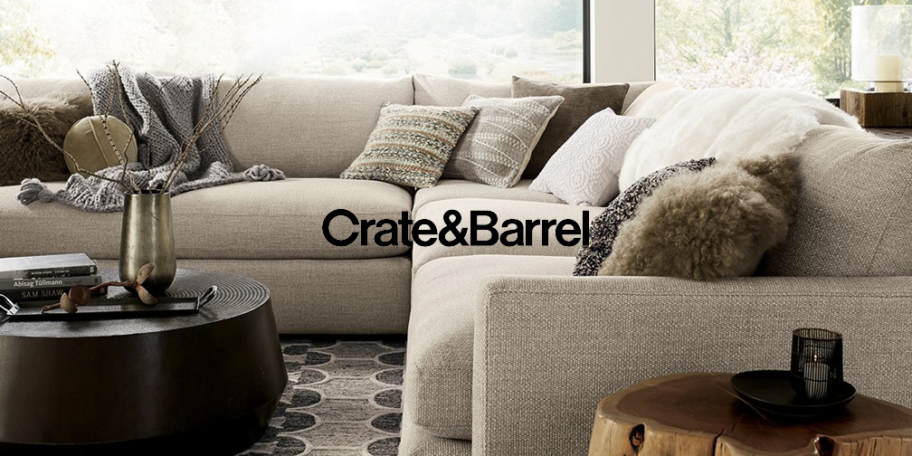 crate barrel annual upholstery sale takes 15 off on crate and barrel id=82067