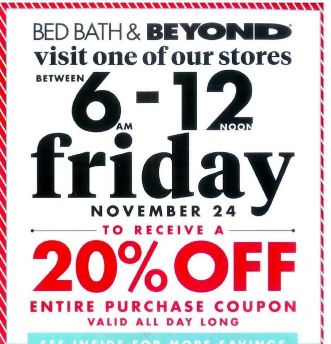 Bed Bath & Beyond BF Ad 1
