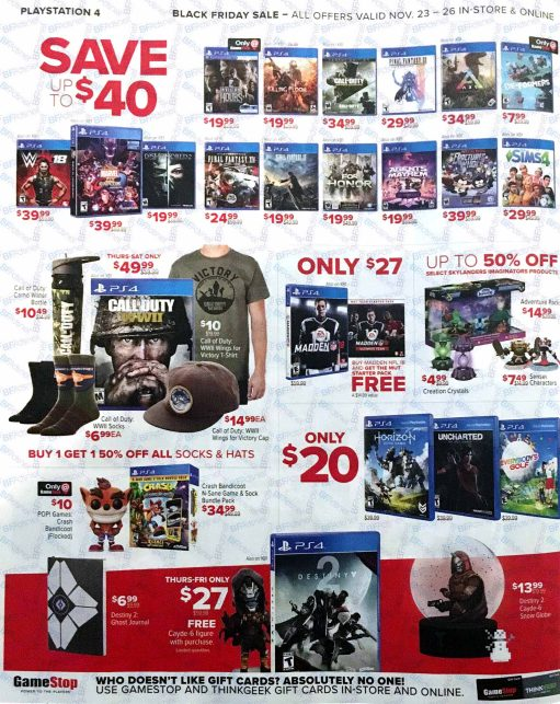 Gamestop Black Friday 2017-6
