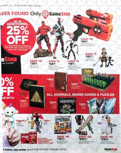 Gamestop Black Friday 2017-9