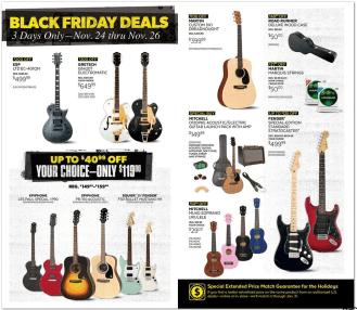 Guitar Center Black Friday 2017 ad-5
