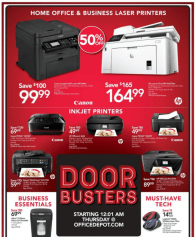 Office Depot Black Friday 2017-12
