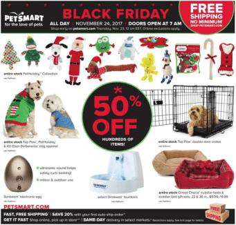 PetSmart Black Friday 2017-2