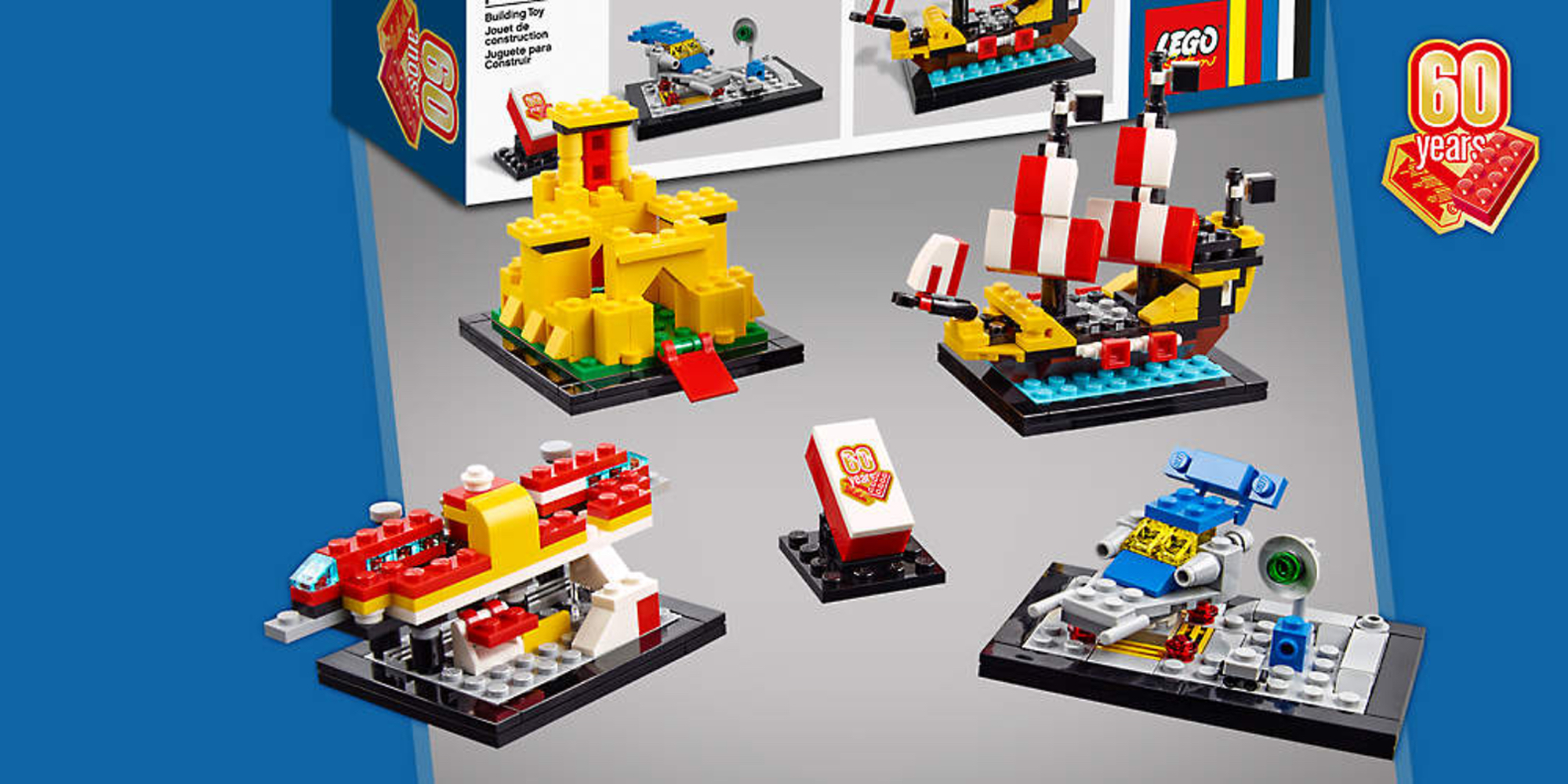 LEGO shows off exclusive new 60 Years of the Brick kit  here s how     LEGO shows off exclusive new 60 Years of the Brick kit  here s how you can  get it for free