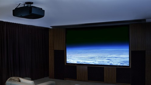 Normal 4K projector size