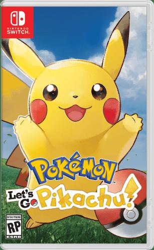 PokÇmon Let's Go, Pikachu! Box Art