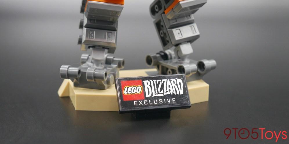 LEGO Overwatch Bastion Stand