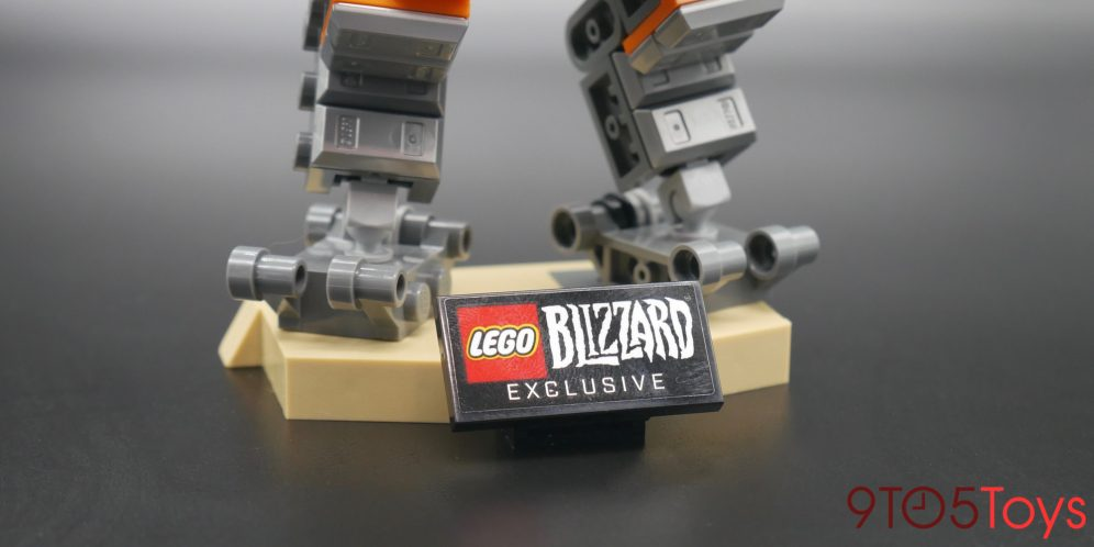 LEGO Overwatch Bastion Stand