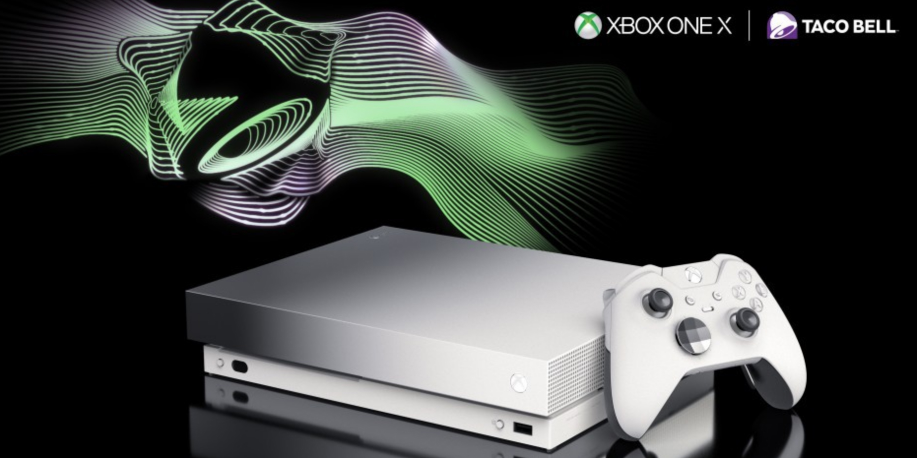 Taco Bell Is Giving Away Limited Edition Xbox One X