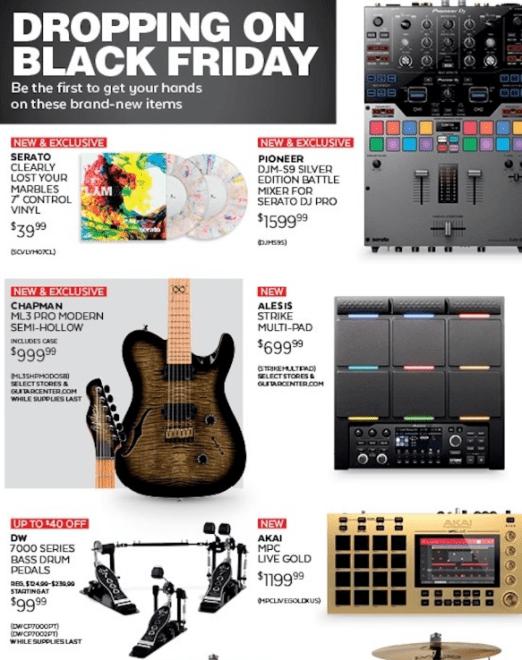 Guitar Center Black Friday ad-2018-03