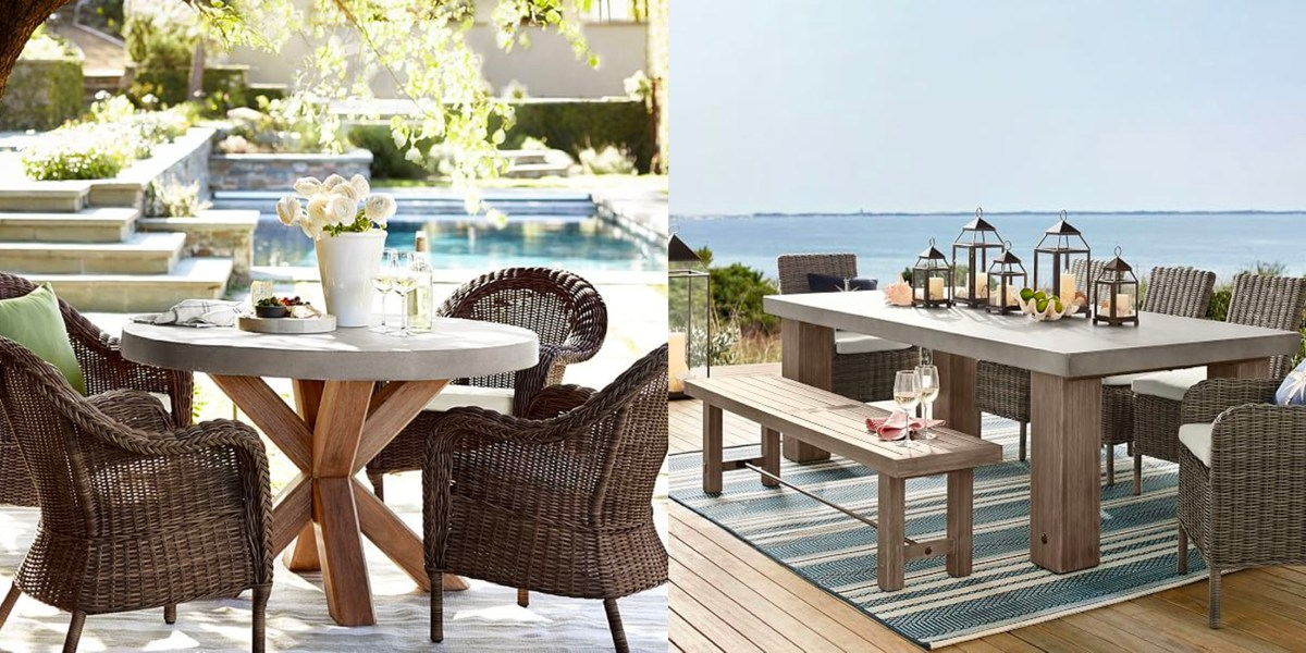 pottery barn s new outdoor collection