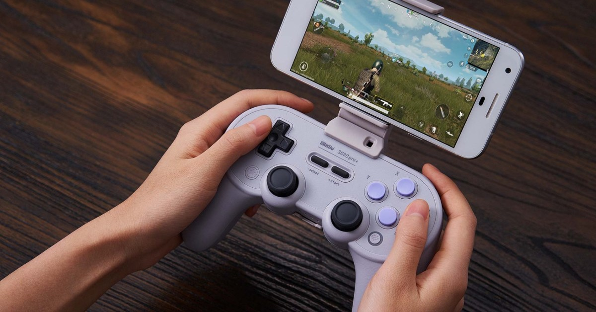 Switch, Android, Mac, and more: 8Bitdo SN30 Pro+ gamepad can do it all for $42.50