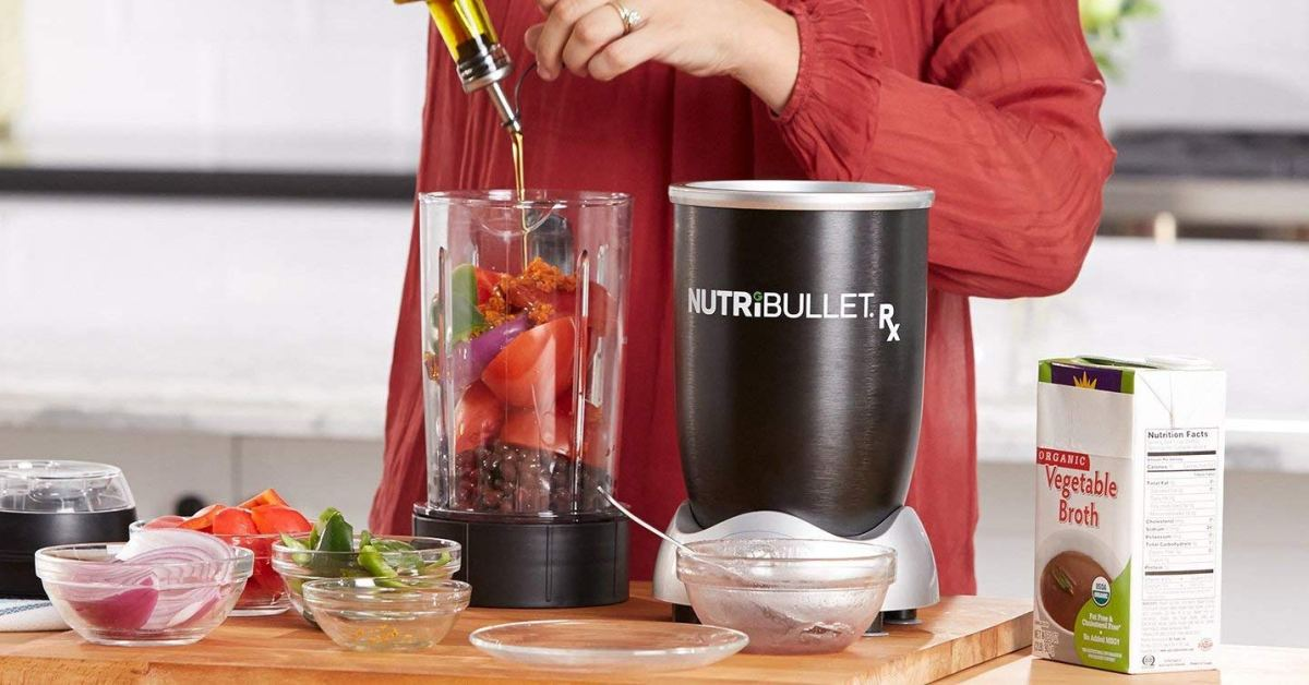 NutriBullet's Rx Blender whips protein shakes and heats soup for $80 (Reg. up to $150)