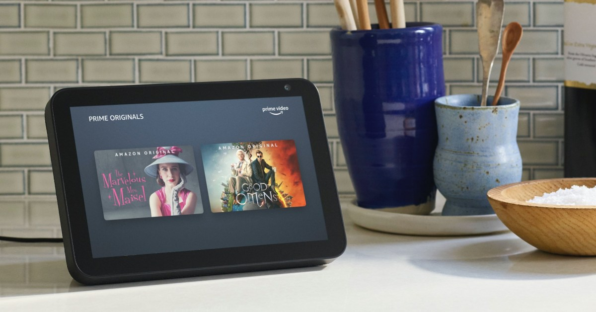 Thank Bezos for this 42% discount on Amazon's Echo Show 8 at a new low of $64