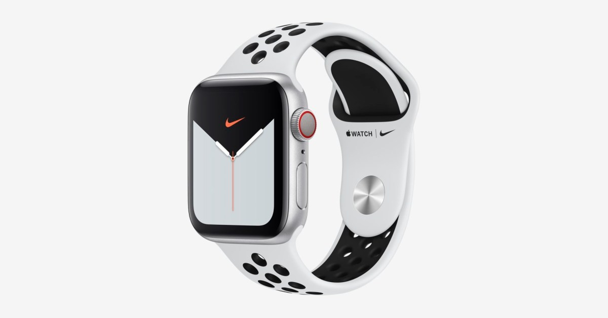Apple Watch Series 5 Nike+ Cellular now $331 (Save $198), bands from $41 - 9to5Toys