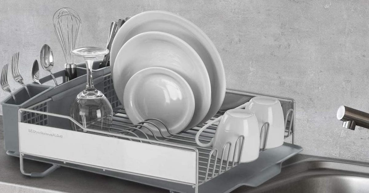 Revamp your setup with KitchenAid's Full Size Dish Rack at $48.50 (Nearly 25% off) - 9to5Toys