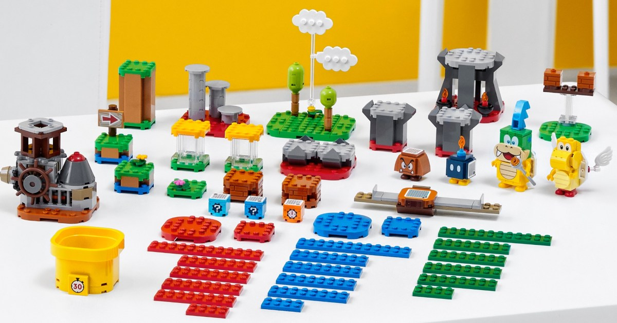 Build your own LEGO Super Mario world with 20% off kits starting at $16 - 9to5Toys