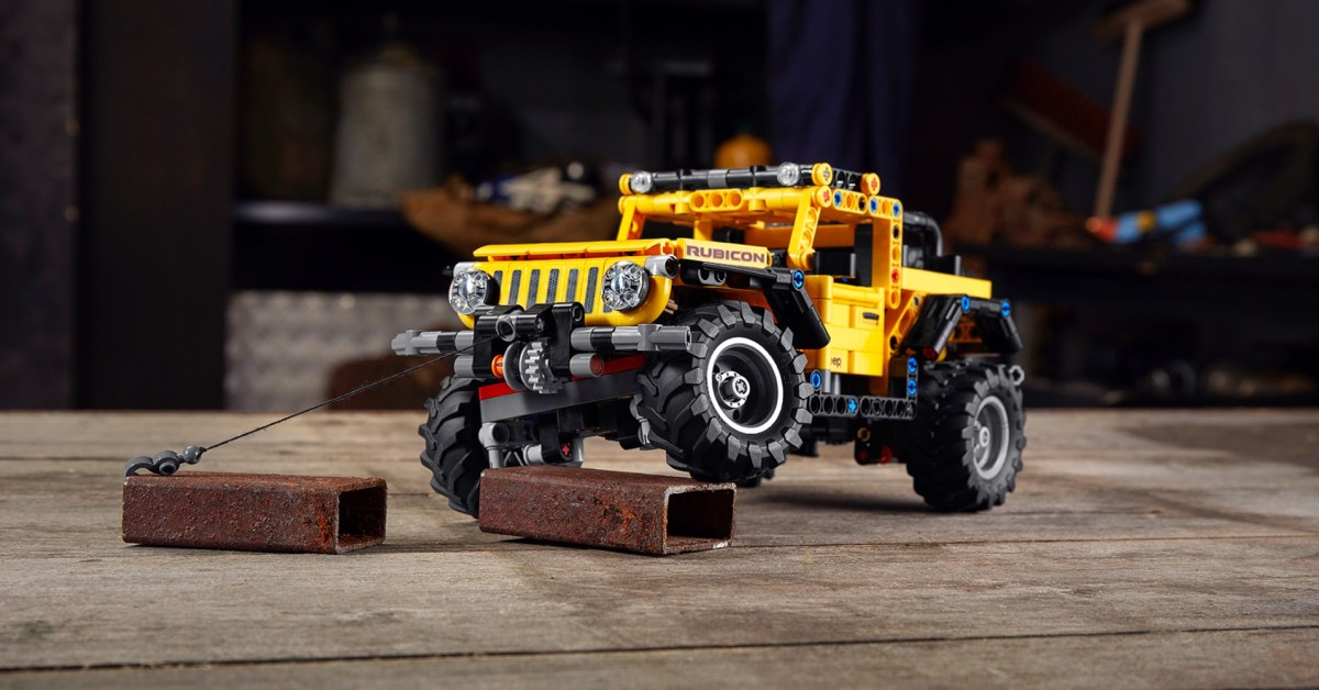 LEGO Technic Jeep Wrangler debuts ahead of 2021 launch - 9to5Toys