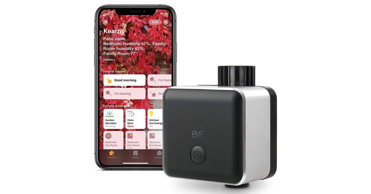 Eve Aqua automates your sprinkler with HomeKit at $70 (Save 30%), more from $33 - 9to5Toys