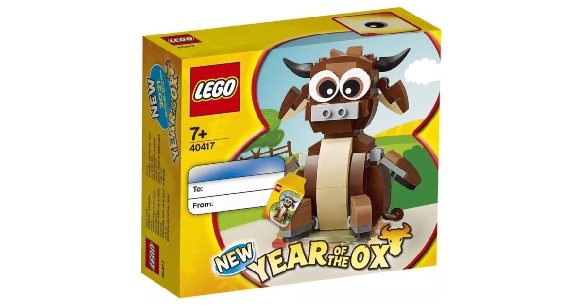 LEGO freebies February: Year of the Ox, Valentine's Day, more - 9to5Toys