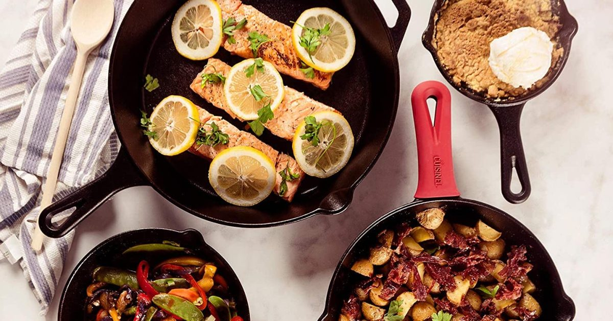 Add some cast iron to your kitchen arsenal from $19: Skillets, baking pans, more up to 45% off - 9to5Toys