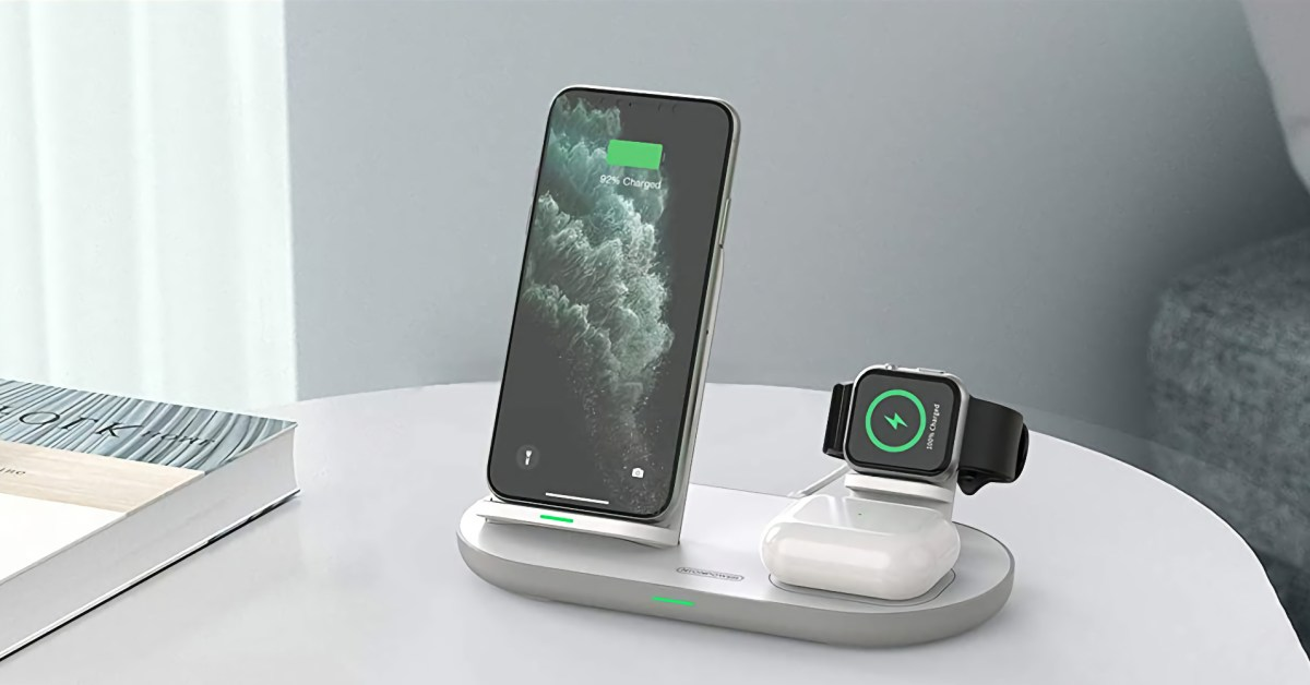 These 3-in-1 charging stations will declutter your desk or nightstand for as low as $19 - 9to5Toys