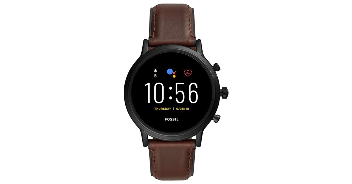Fossil's Carlyle Smartwatch delivers GPS + heart rate monitoring at $174 (Save 41%) - 9to5Toys