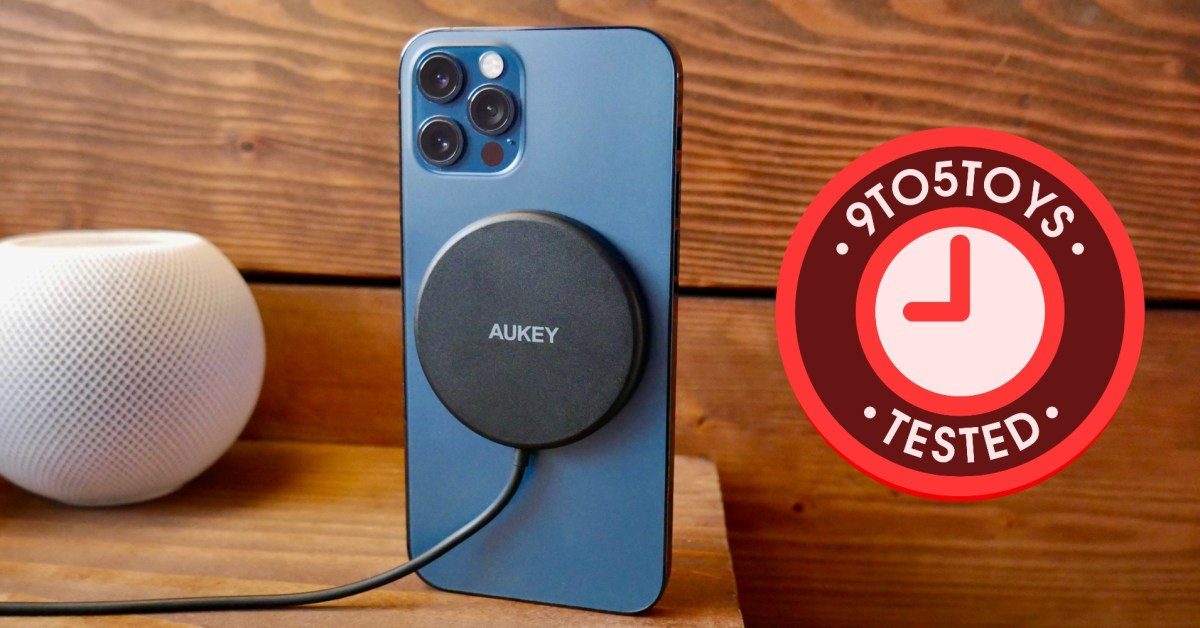 Tested: Aukey's magnetic wireless charger delivers MagSafe features for less - 9to5Toys