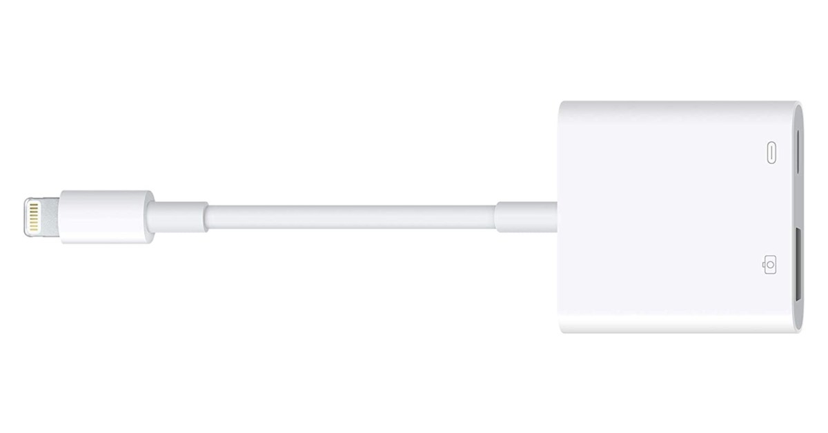 Apple's Lightning to USB 3.0 Camera Adapter hits Amazon low at $23 (Reg. $39) - 9to5Toys