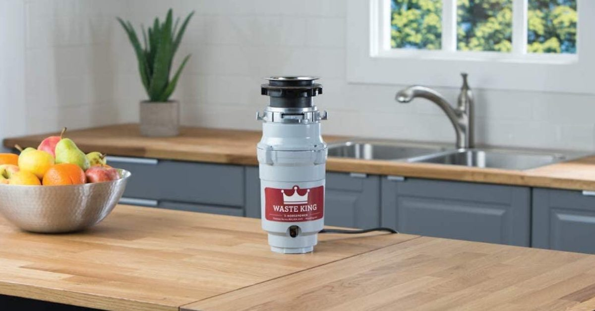 Waste King's no electrician-needed garbage disposal drops to $42 at Amazon (Reg. $51+)