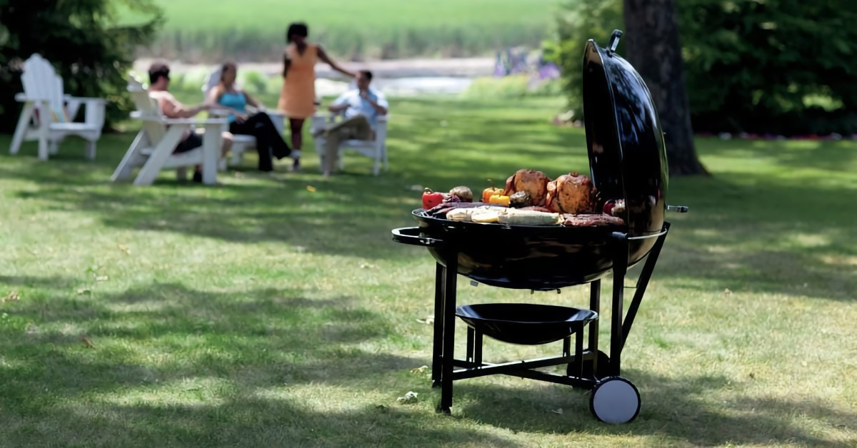 Weber's massive Ranch Charcoal Kettle Grill can fit 19 Cornish hens: $917.50 (Save $507+) - 9to5Toys