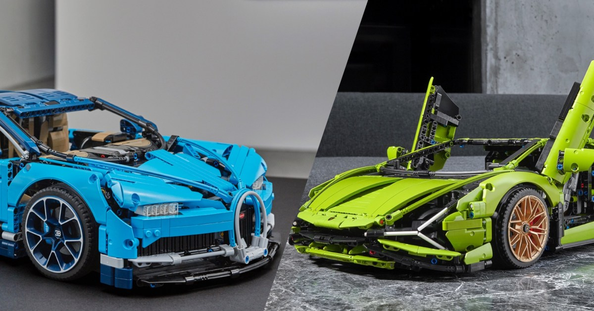 Save $80 on LEGO's Technic Bugatti Chiron or Lamborghini Sián supercars, more from $32 - 9to5Toys
