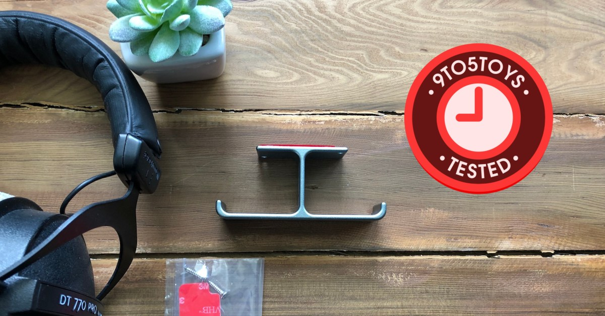 6amLifestyle Headphone Hanger review - 9to5Toys