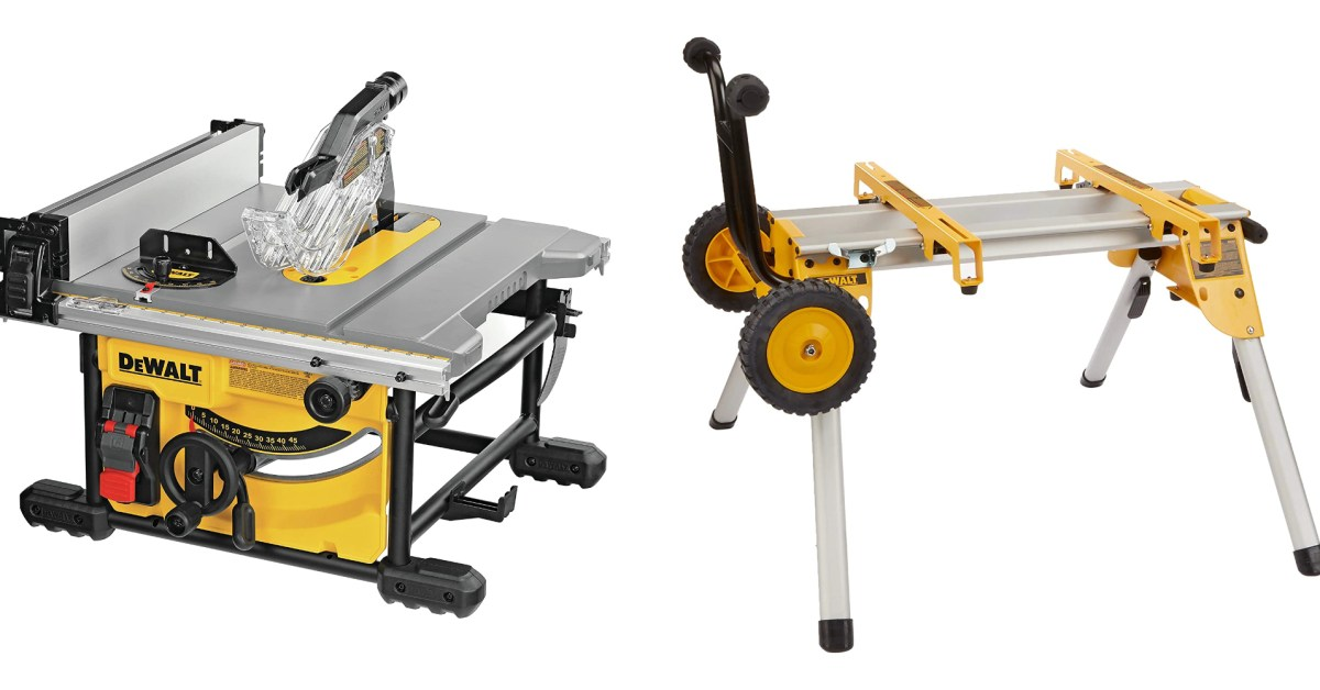 DEWALT gear from $13: Table saw and stand combo, mechanics kit, more (Up to 30% off) - 9to5Toys