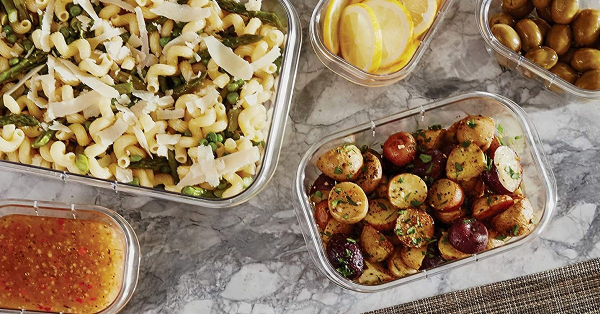 Rubbermaid's bento box-style container set is the perfect meal prep pal at $13