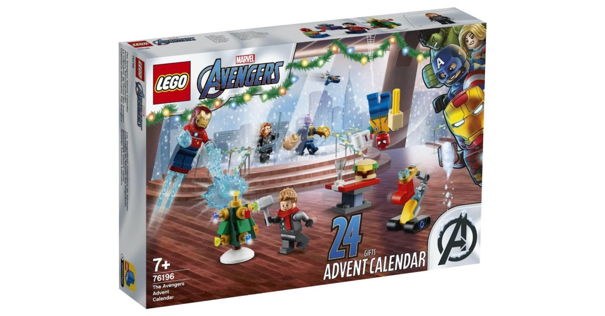LEGO unveils its first Marvel Advent Calendar with exclusive minifigs and festive builds