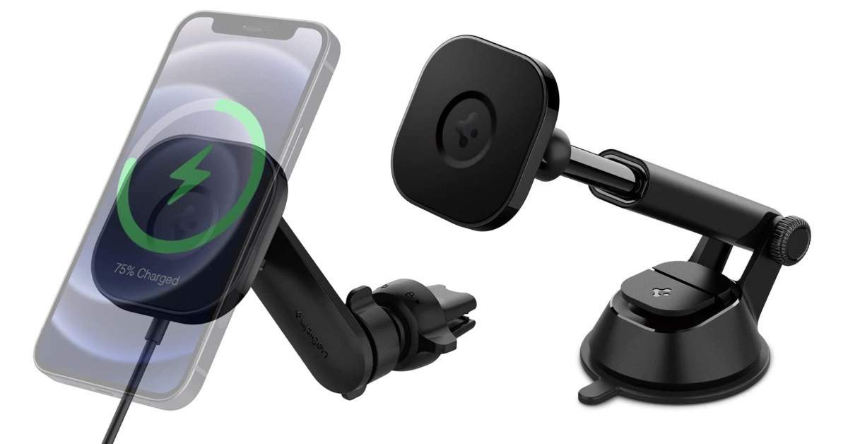 Spigen OneTap/Pro MagSafe Car Mounts now on sale from $24 (Save up to 22%)