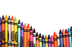 Multicolored crayons
