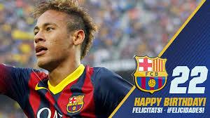 Neymar yang baru saja melewati ulang tahunnya yang ke 22