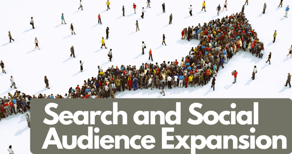 search and social audience expansion