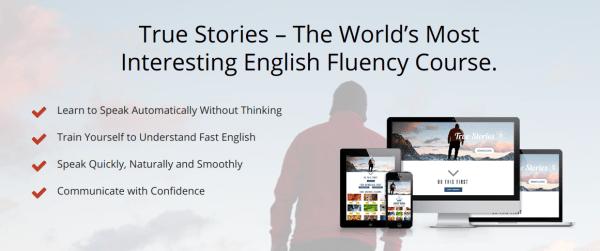 Deep English True Stories Fluency Course Discount- 9WSO Download