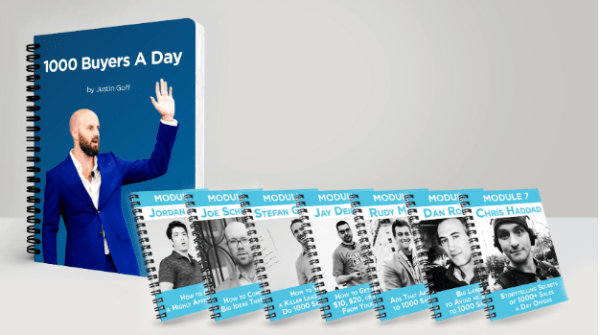 Justin Goff Marketing Letter 1000 Buyers a Day- 9WSO Download