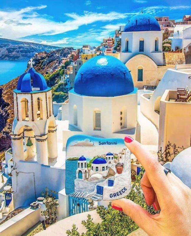 Santorini Greece- 9WSO Download