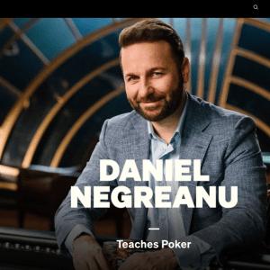 MasterClass - Daniel Negreanu Teaches Poker