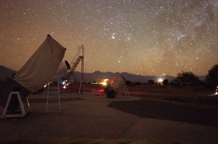Night skies on the Space Obs Tour - San Pedro de Atacama