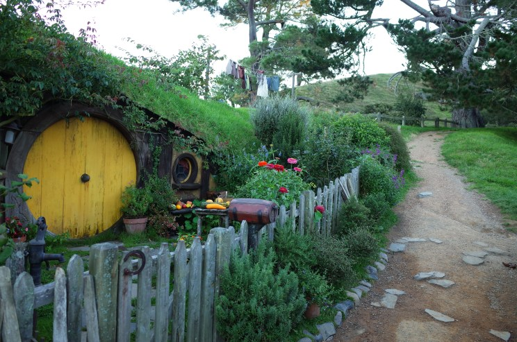 Sam's smial at Hobbiton