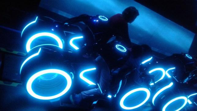 Shanghai Disney Tron ride