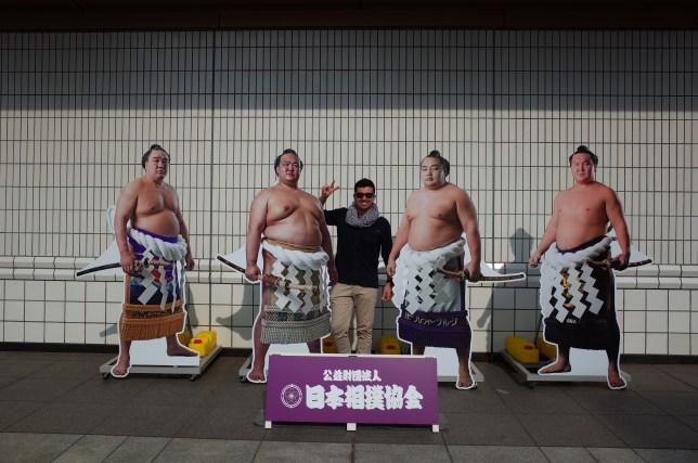 Ryogoku Kokugikan sumo same-day tickets, Tokyo, Japan