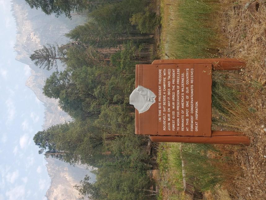 The spot where it all began - Yosemite