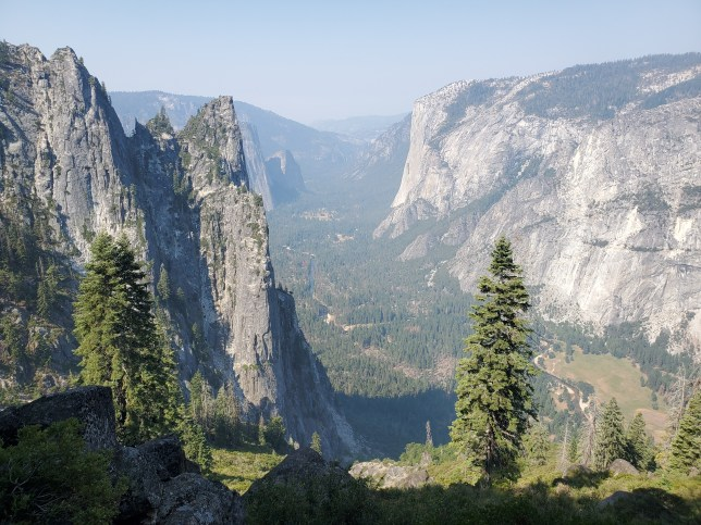 The view from Four Mile Trail